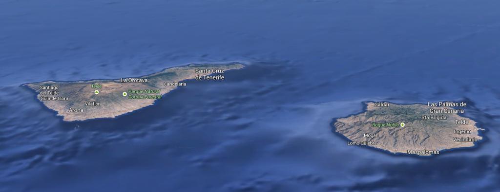 Тенерифе и Гран Канария