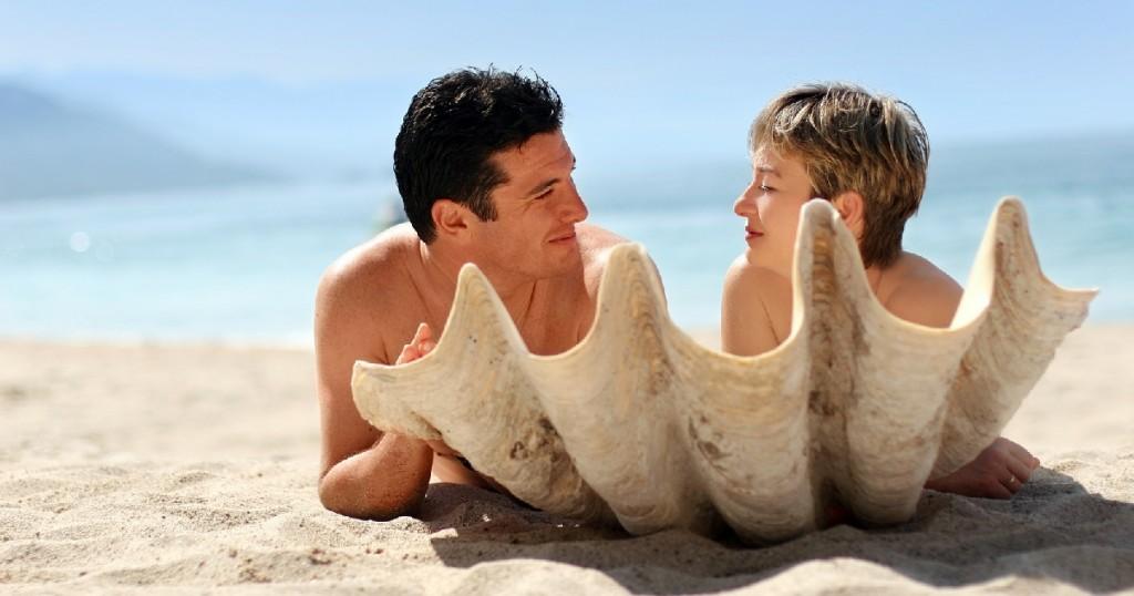 nudist beach man